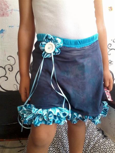 0e2d6f404f56 Short y falda   . . . . . . . . . . . . El detalle que hace la ...