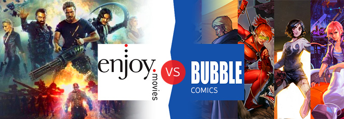 Enjoy Movies & Bubble Comics