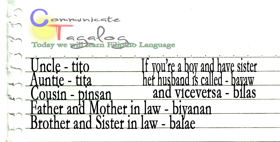 Communicate tagalog august 2012 ct lesson 9 how to name family members part 2 in tagalog m4hsunfo