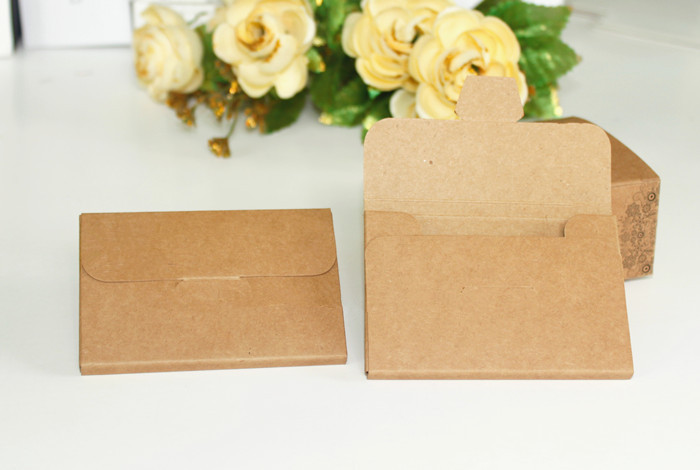 these kraft gift card holders are a cute environmentally friendly way to display your plastic - Gift Card Holders Wholesale