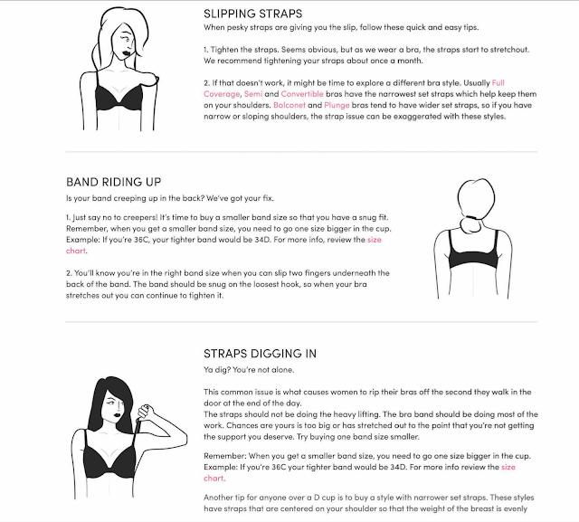 bra problems