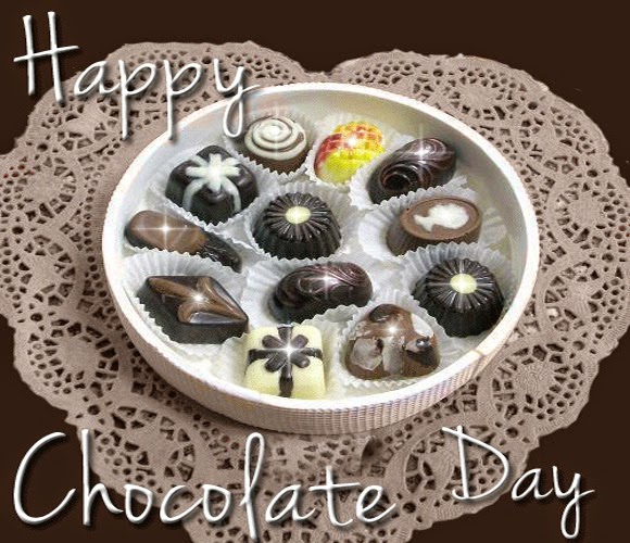 Happy Chocolate Day Greetings Wallpapers