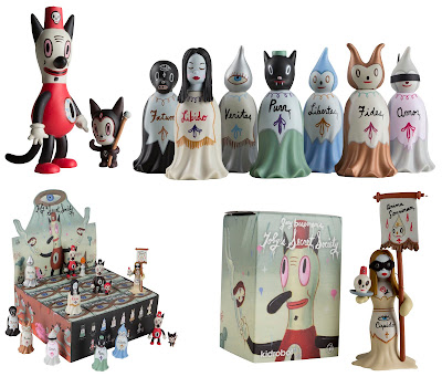 Kidrobot - Toby's Secret Society Mini Series by Gary Baseman