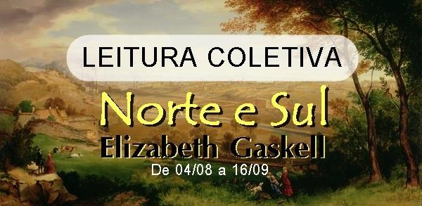 Convite, leitura-coletiva, Norte-e-Sul, Elizabeth-Gaskell