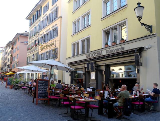 Hirschenplatz Niederdorf Quarter Zurich Old Town