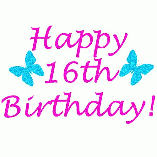Happy Birthday 16th