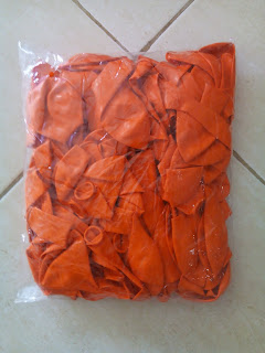 Balon Dekorasi Dove 12 Inchi Orange