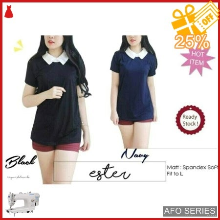 AFO449 Model Fashion Blouse Ester Modis Murah BMGShop