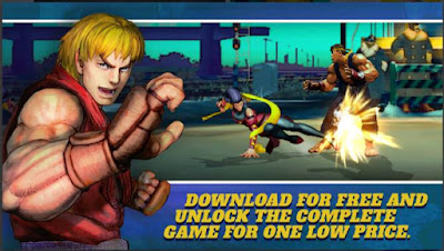 Game Pertarungan Android Offline Street Fighter IV Apk