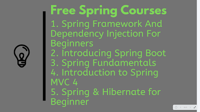 Free Spring Framework courses