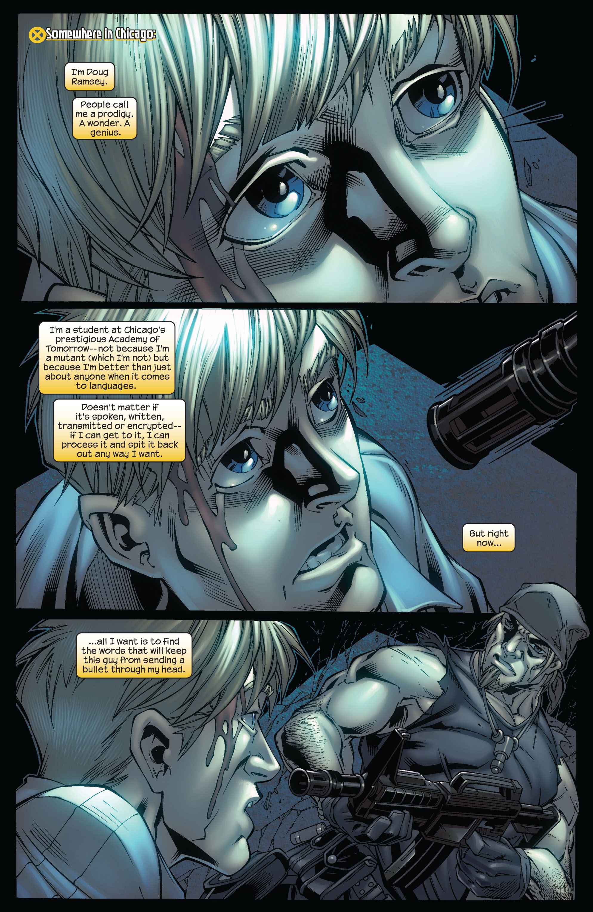 Read online Ultimate X-Men comic -  Issue #75 - 25
