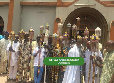 Ooni of Ife was represented by his wife Olori Sonia Itohan Ogunwusi at his grand mother burial ceremony.