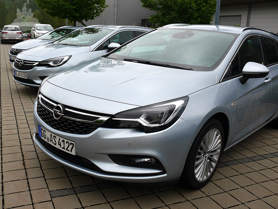 Opel Astra Sports Tourer Präsentation