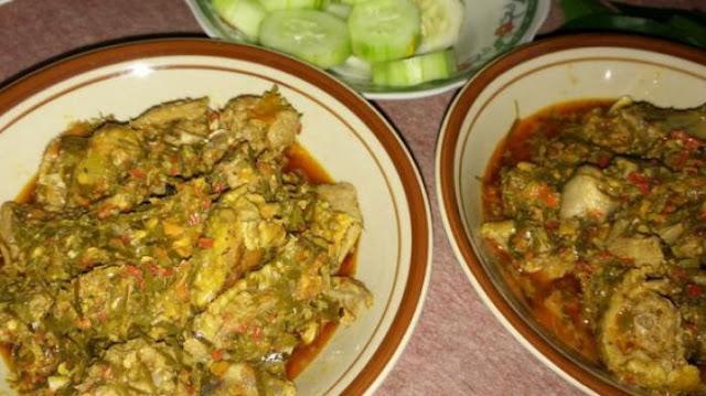 Kuliner Geseng khas Banyuwangi.