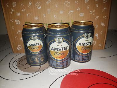 Amstel Oro Caja Degustabox - Septiembre ´16