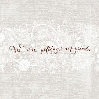 نحن سوف نتزوج