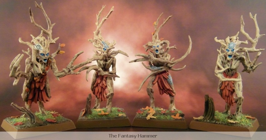 Wood Elves Dryads unit part.1