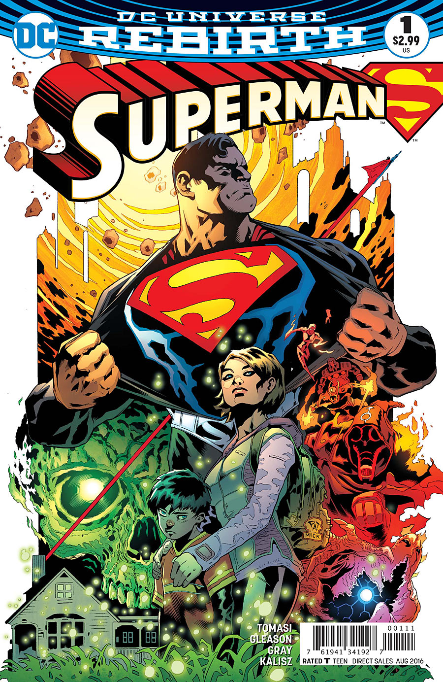 Supergirl Comic Box Commentary: Review: Superman #1
