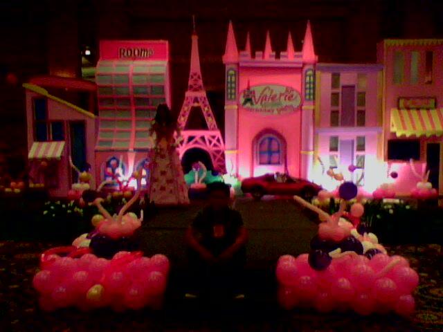 Dekorasi tema girly, dekorasi nuansa pink, dekorasi ultah, backdrop ultah