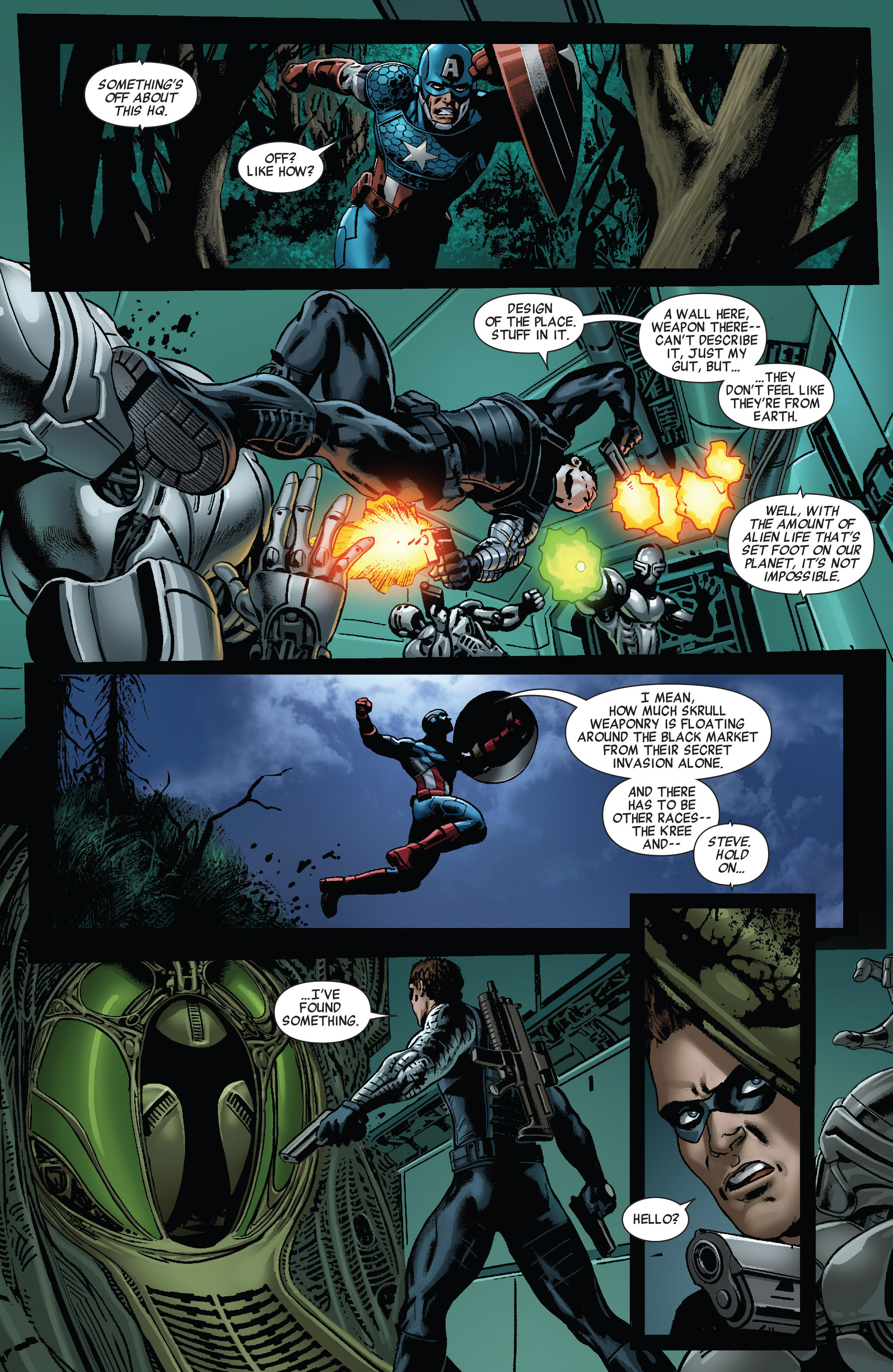Read online All-New Invaders comic -  Issue #9 - 14
