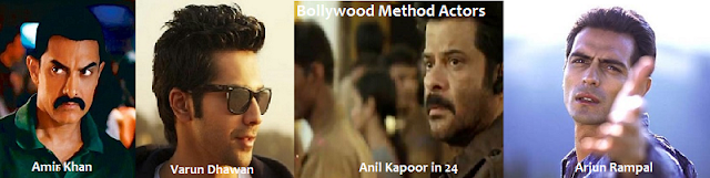 Some of the Bollywood method actors