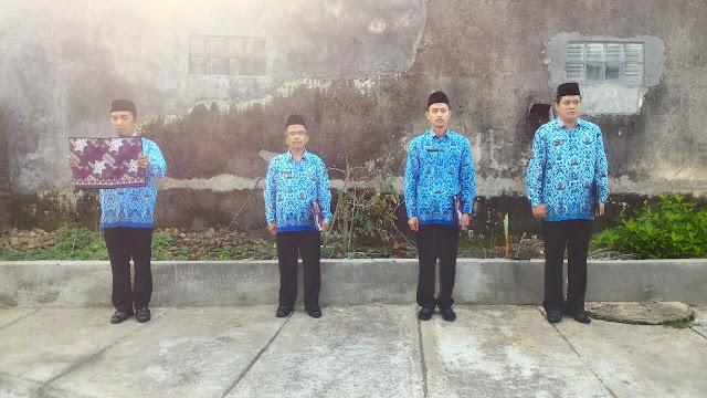Petugas upacara HUT RI ke-72 BPHW IV.