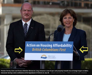 "Christy Clark and ""British Columbians First"""