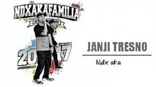 Lirik Lagu Janji Tresno - NDX AKA