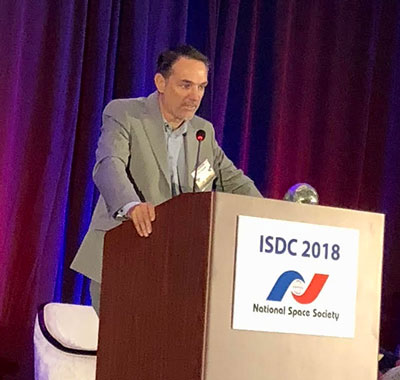 SpaceX Propulsion Chief Technology Officer tells of the Merlin engine development at ISDC 2018