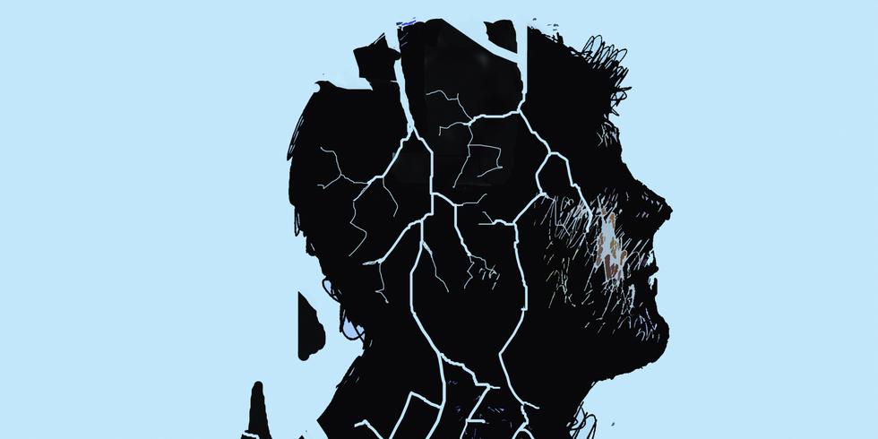 Bilde fra EsquireUK, fra artikkelen «What Can We Do About Britain's Male Suicide Crisis?» av Sam Parker