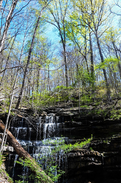 Bridal Veils Falls, Sewanee, Tennessee