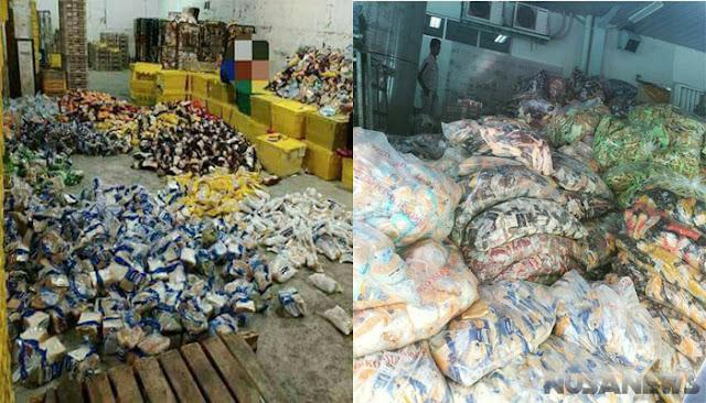 Tak Laku di Pasaran, Beginilah Penampakkan Sari Roti di Gudang