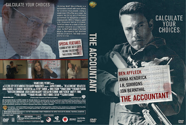 The Accountant DVD Cover
