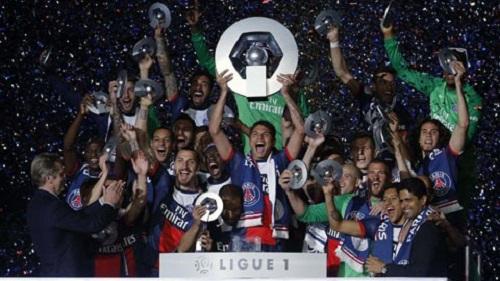 PSG chính thức đăng quang giải đấu Ligue 1
