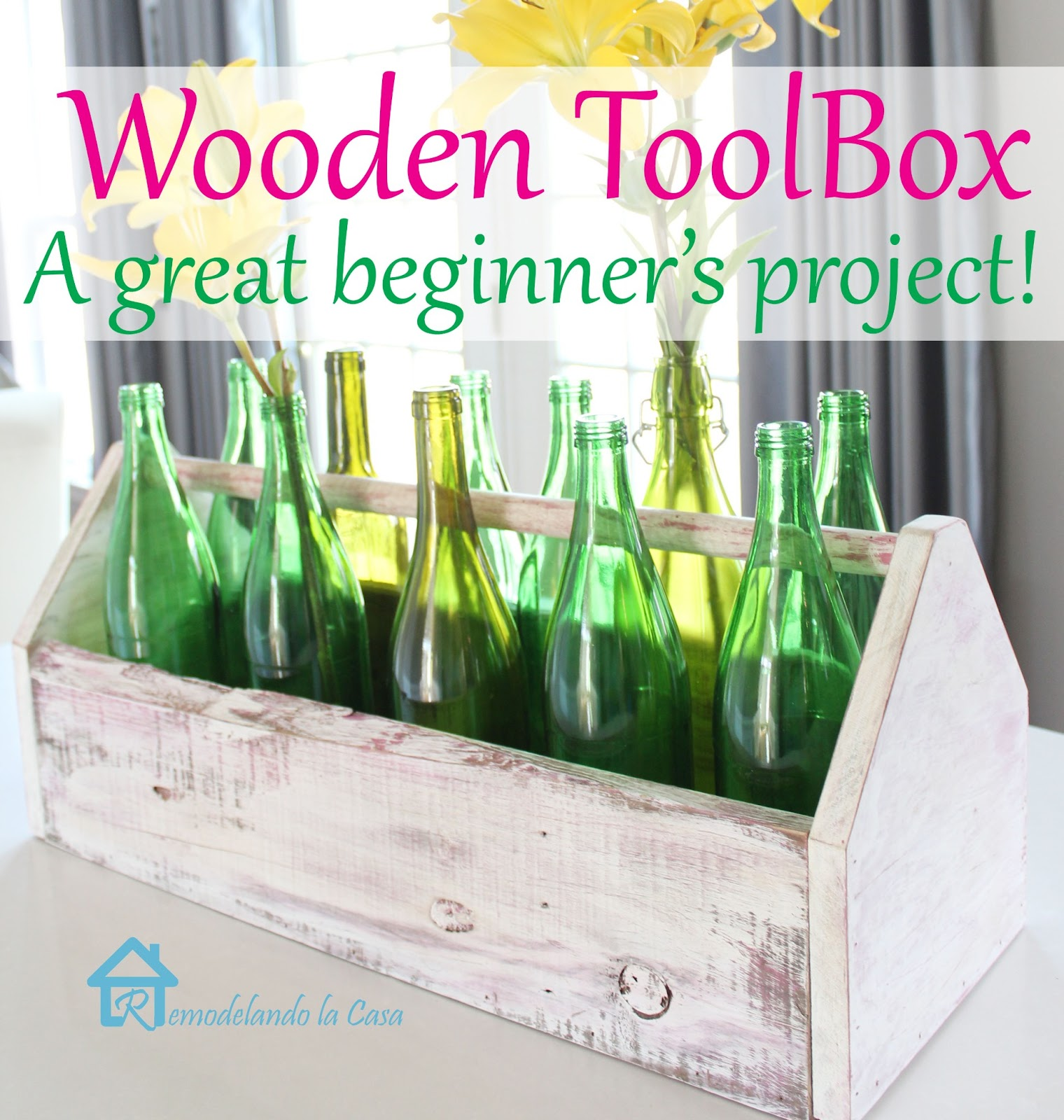 Wooden Toolbox Remodelando La Casa