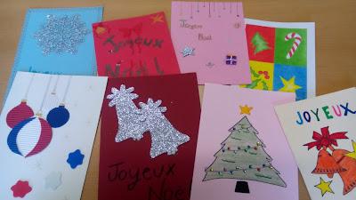 Tarjetas de navidad escritas en frances