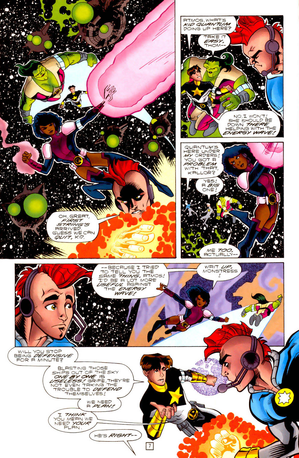 Legion of Super-Heroes (1989) 102 Page 7