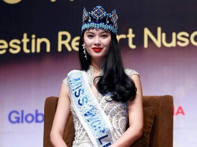 Miss World Of 2012 – Yu Wenxia