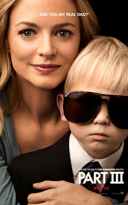 The Hangover Part III Portrait Character Movie Posters - Are You My Real Dad - Heather Graham as Jade & Baby Carlos