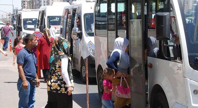 Diyarbakır'da şehiriçi yolcu taşıma ücretlerine zam yapıldı
