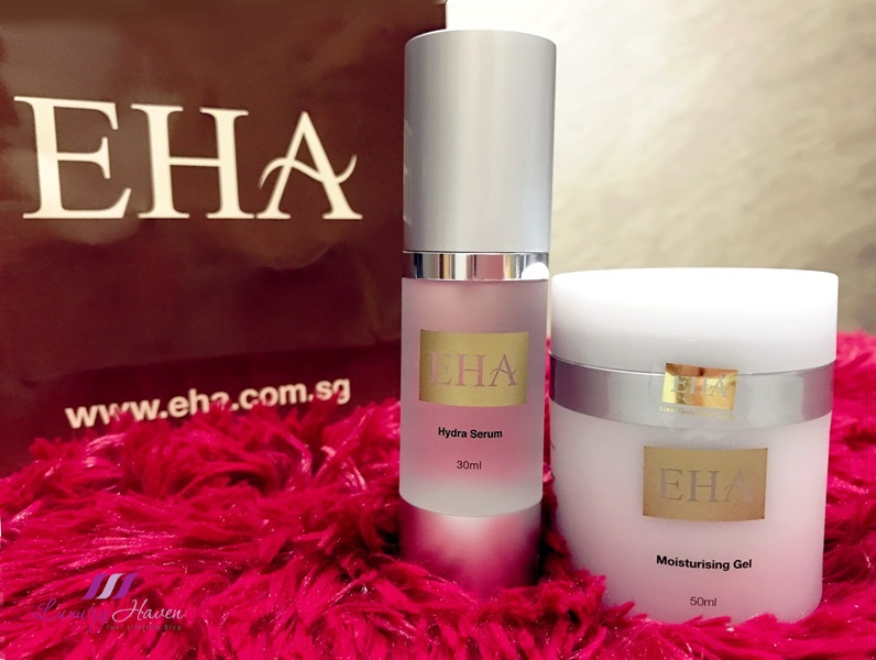 eha skincare hydra serum moisturizing gel review