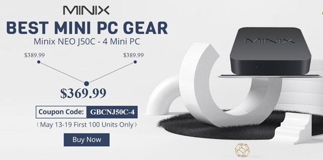 Minix NEO J50C-4: análisis