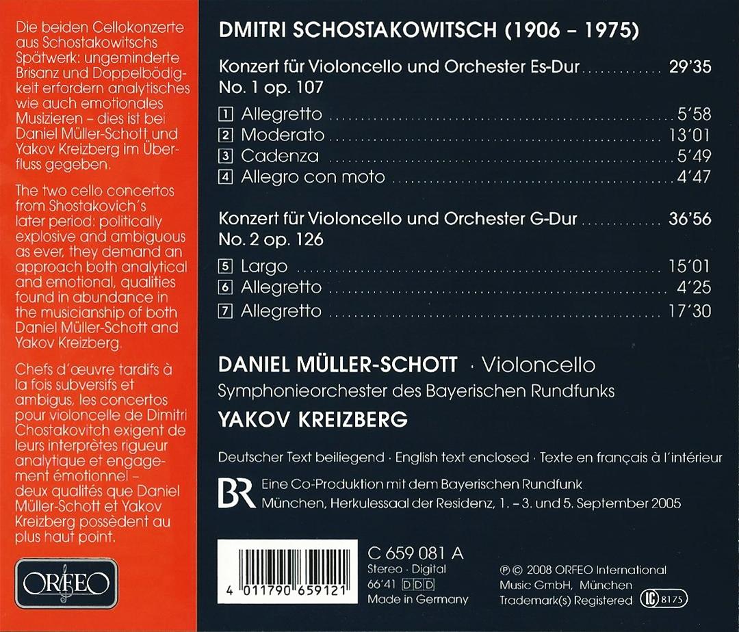 Music For Life: Shostakovich – Cello Concertos – Daniel