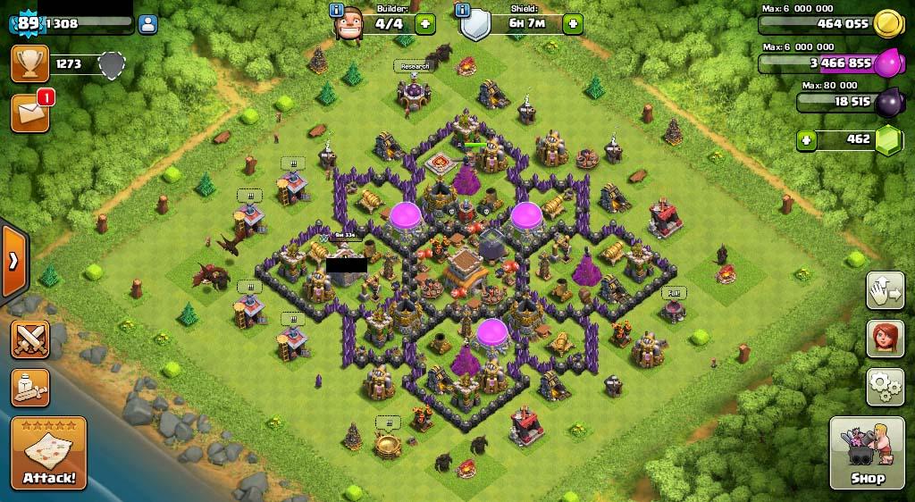 Selling Th 8 Max Bk Level 8 Dragon Lv 3 Wiz Lv 5 Playerup