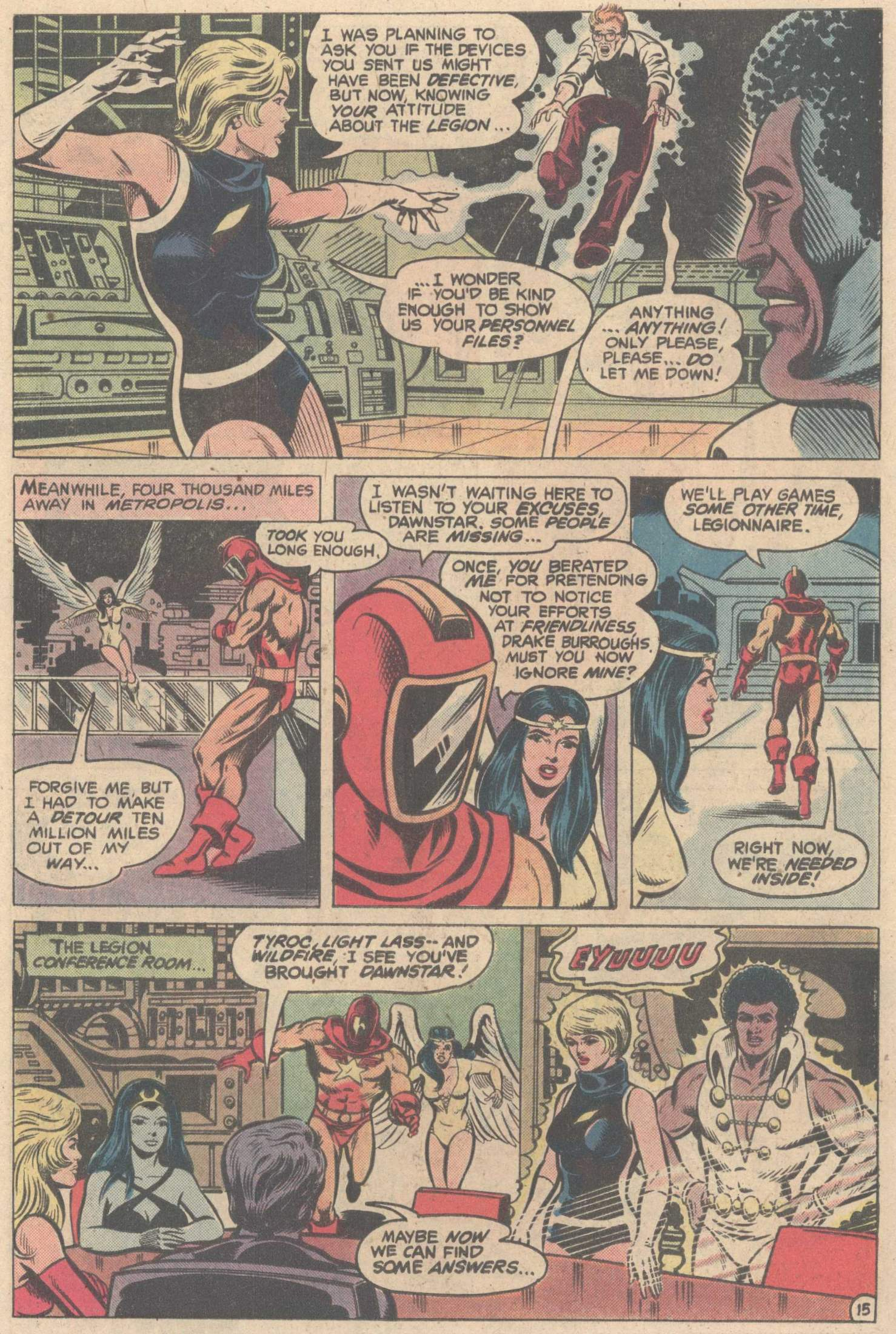 Legion of Super-Heroes (1980) 263 Page 26