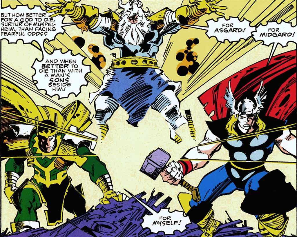 Image result for walt simonson's thor