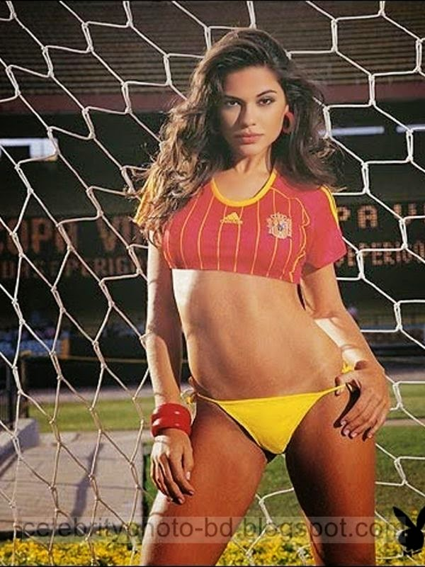 Spain's Sexy Fans Photos In Brazil World Cup 2014