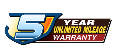 Hyundai 5-Year Unlimited Mileage Warranty