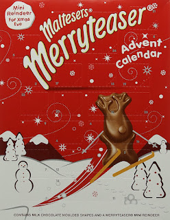 Milk chocolate for christmas Maltesers Merryteaser Advent Calendar 108g 11pack £9.99