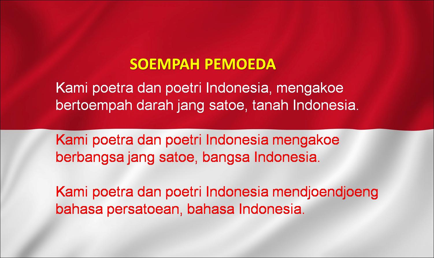 Bahasa Indonesia Dengan Sumpah Pemuda Sejarah Sumpah Pemuda Serta Tokoh Tokoh Yang Terlibat Sejarah Cirebon